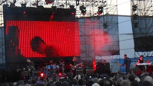 NEW ORDER @ Williamsburg Park, Brooklyn, New York