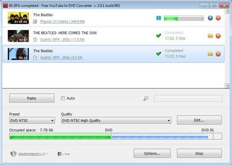 youtube  dvd converter