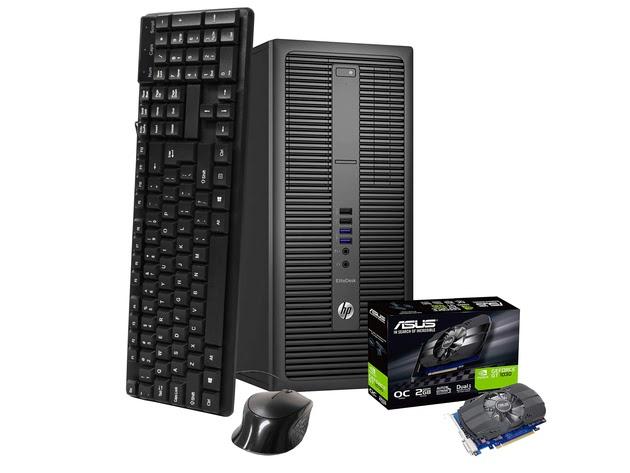HP EliteDesk 800 G2 Mini Tower Computer PC, 3.20 GHz Intel i7 Quad Core Gen 6, 16GB DDR4 RAM, 240GB SSD Hard Drive, Windows 10 Professional 64 Bit (Renewed) for $712