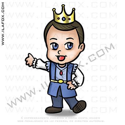 caricatura fofinha, mini caricatura, caricatura infantil, principe, by ila fox