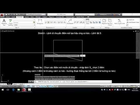 Tự học autocad cơ bản - Bài 07. Công cụ vẽ và chỉnh sửa REC, S, X, C, A, EL