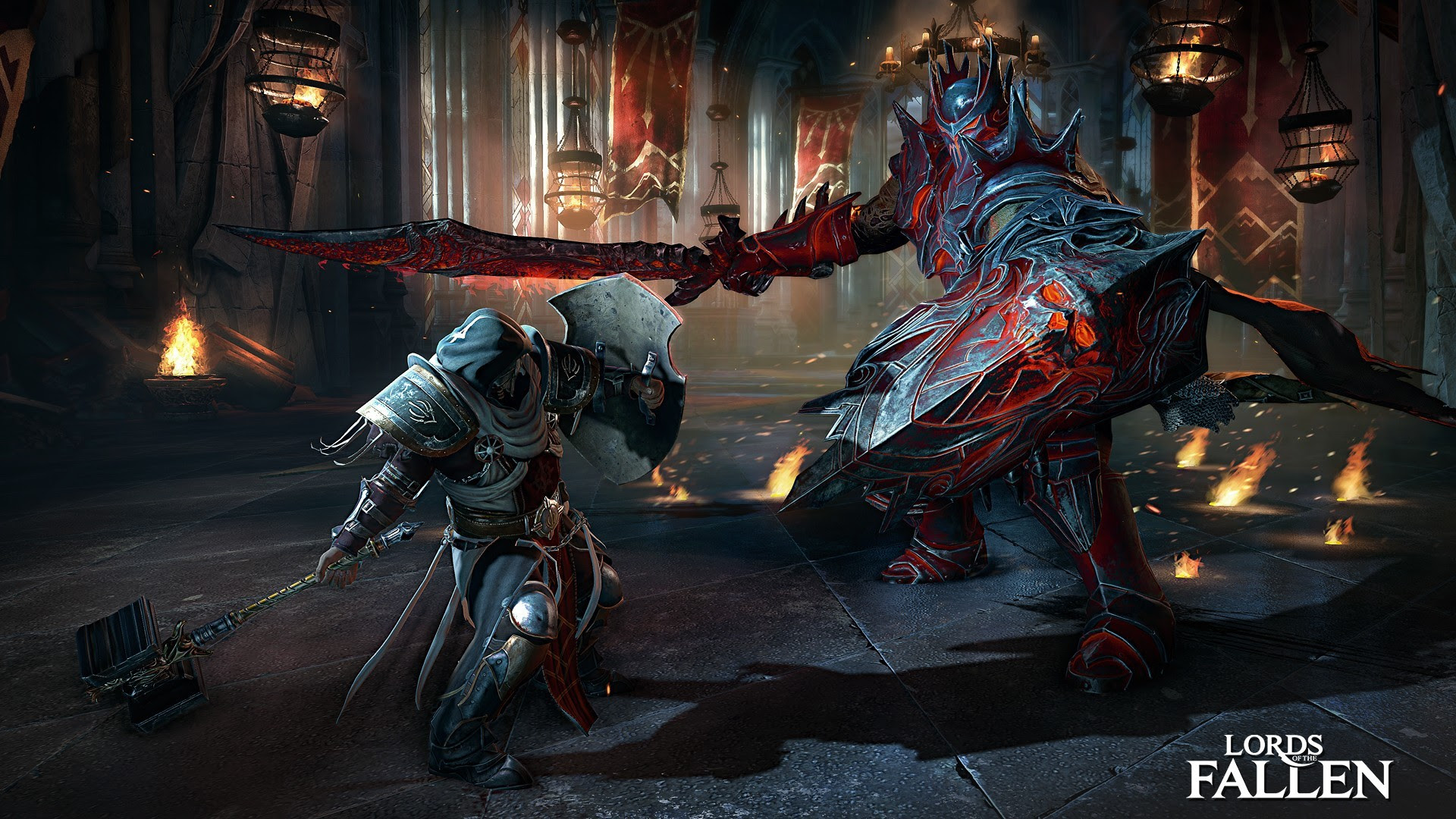 Lords Of The Fallen Officially Announced Third Person Action Rpg