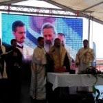 Teofan cu Gherghel_slujba comuna aeroport Iasi_2