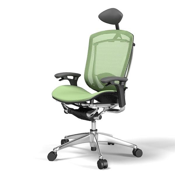 contessa okamura office chair 3d obj