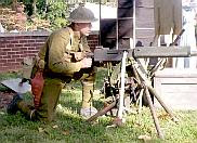 WWI machine gun
