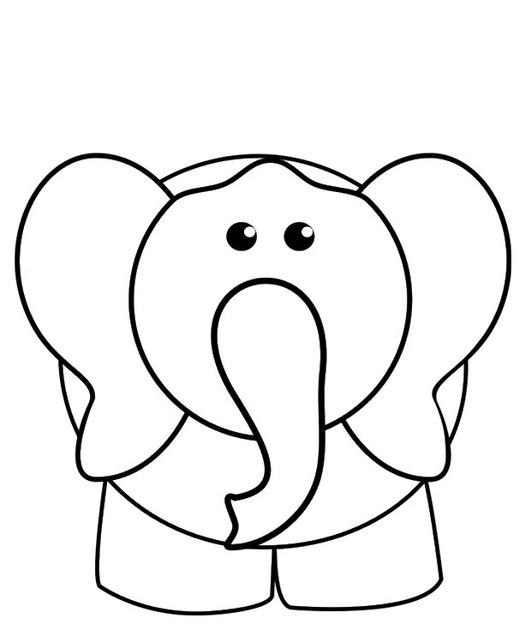 referat elefant bilderzum ausmalen  asumalbilder
