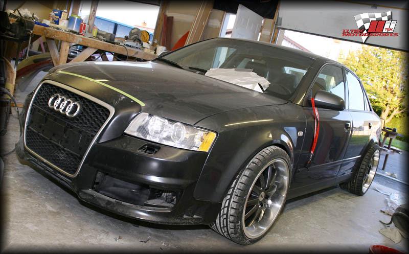 Audi A4 B6 Bumper Conversion