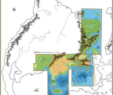 Map Of Duncan Oklahoma, Lets Map Mystara 1985, Map Of Duncan Oklahoma