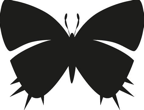 Insects Set [Silhouette] Vector Icon Template Clipart Free