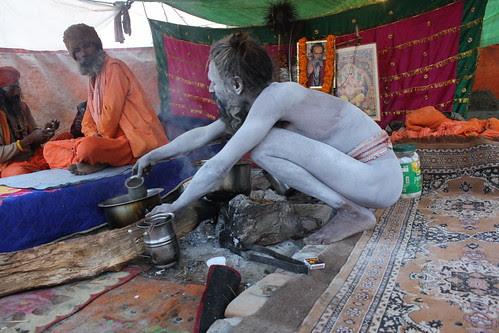 The Naga Babas At Maha Kumbh Allahabad 2013 by firoze shakir photographerno1