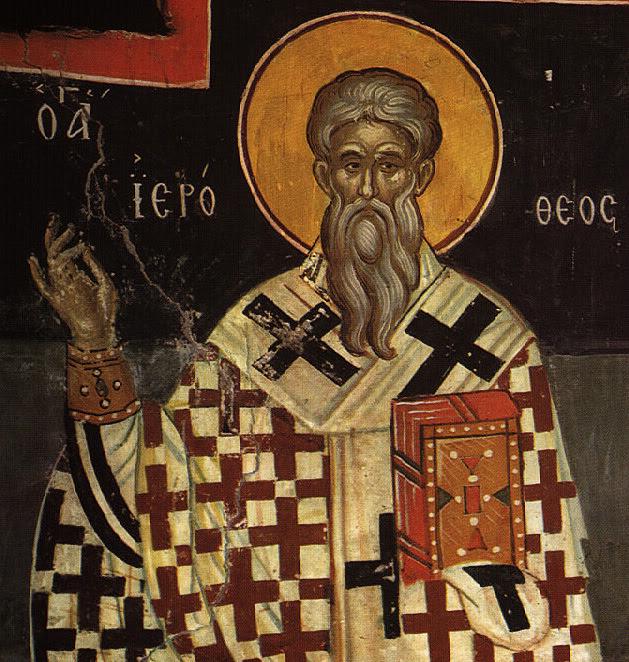 Αποτέλεσμα εικόνας για Άγιος Ιερόθεος Επίσκοπος Αθηνών