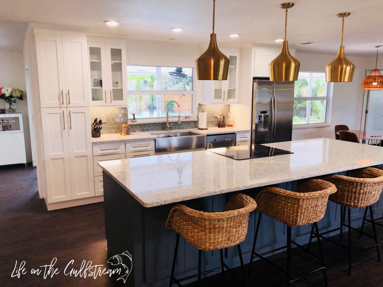 Home Architec Ideas Open Concept Galley Kitchen Design