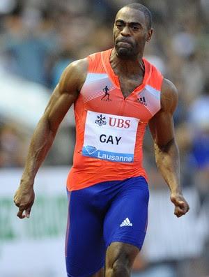 tyson gay atletismo (Foto: AFP)
