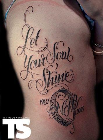 Tipo De Letras Para Tatuajes 3 Tatuajes Y Tattoos