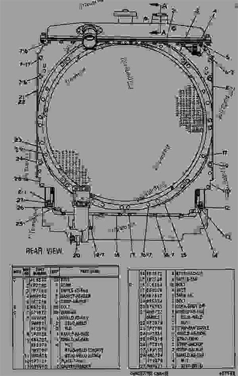 7N4541 RADIATOR GROUP RADIATOR GROUP - TRACK-TYPE LOADER