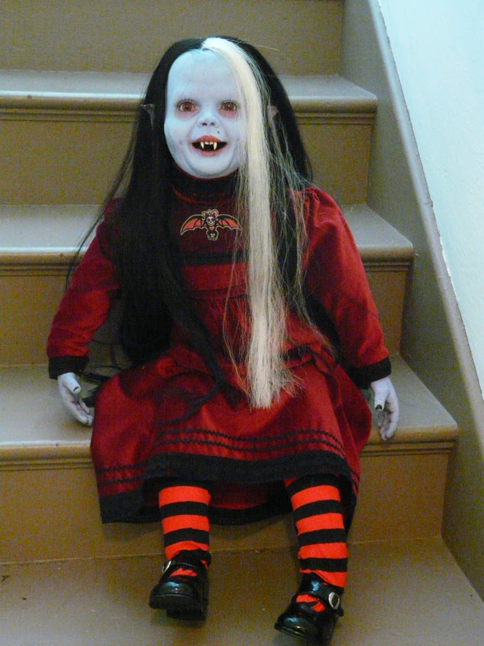 NOCTURNA 3ft talking  doll by chuckjarman