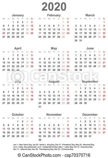 Calendar 2020 Singapore Holiday