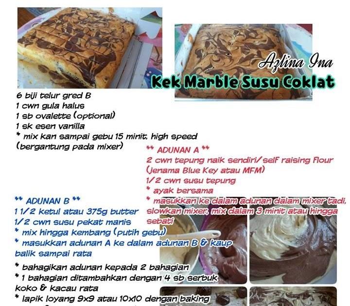 Resepi Kek Coklat Ina Azlina Copd Blog H