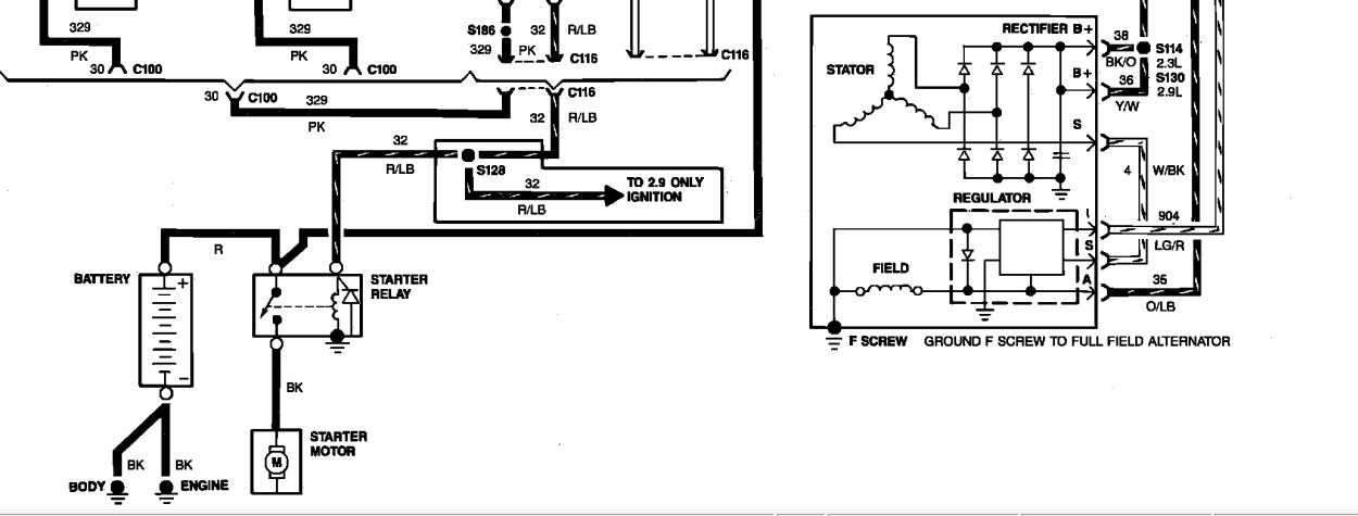 Diagram 1989 Ford Ranger Alternator Wiring Diagram Full Version Hd Quality Wiring Diagram Wk Schema Toutestimberland Fr
