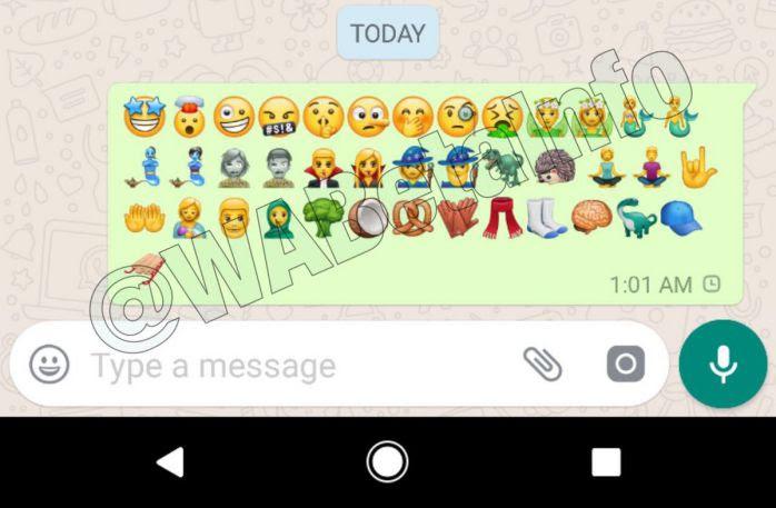 WhatsApp 2 17 397 beta adds new emojis on Android