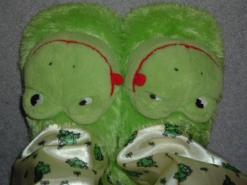 Fuzzy Froggies