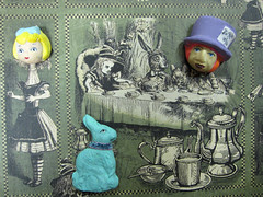 Alice and Mad Hatter Doll Part Value Pack!