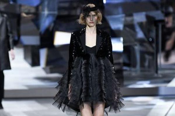 5b3d80fc214cc Google News - Paris Fashion Week  Hedi Slimane returns with Celine ...