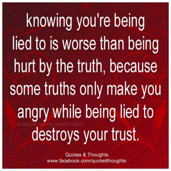Quotes About Knowing Lies 42 Quotes
