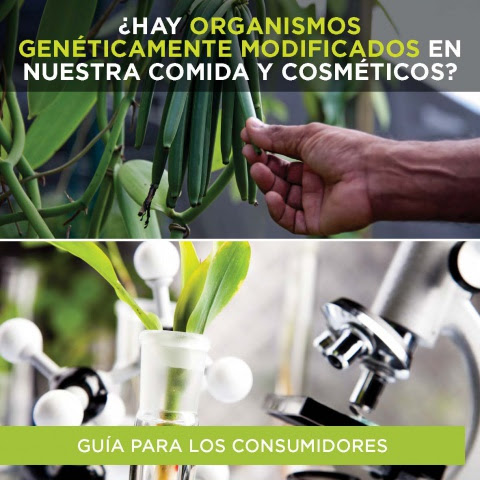 Guía para identificar los transgénicos de nueva generación en alimentos y cosméticos