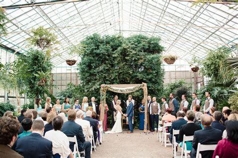 Bohemian Pennsylvania Greenhouse Wedding: Christine