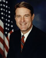 Official portrait, U.S. Senator Evan Bayh of Indiana