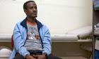 Eritrean refugee Mogos Redae