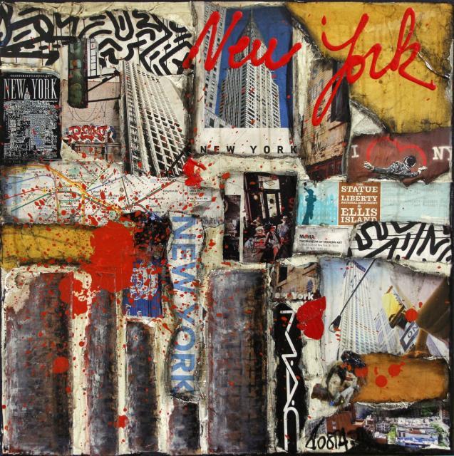 New York Tableau De Sophie Costa Artiste Peintre Sophie Costa