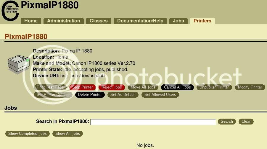 Canon Pixma 1880