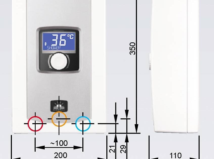 durchlauferhitzer elektrisch 230 volt amilton. Black Bedroom Furniture Sets. Home Design Ideas