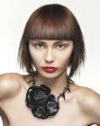 texturized haircut - hob artistic team