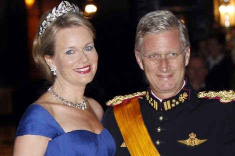 Felipe y Matilde de Bélgica, el pasado fin de semana en la boda real de Luxemburgo. | Gtres
