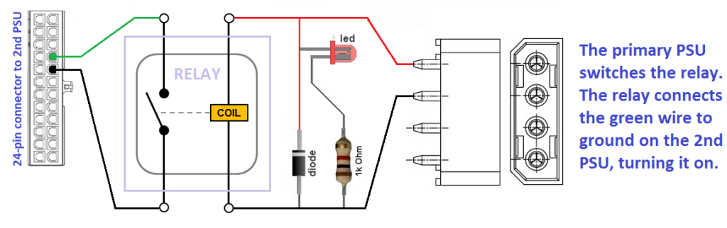 Atx Psu Wiring Diagram