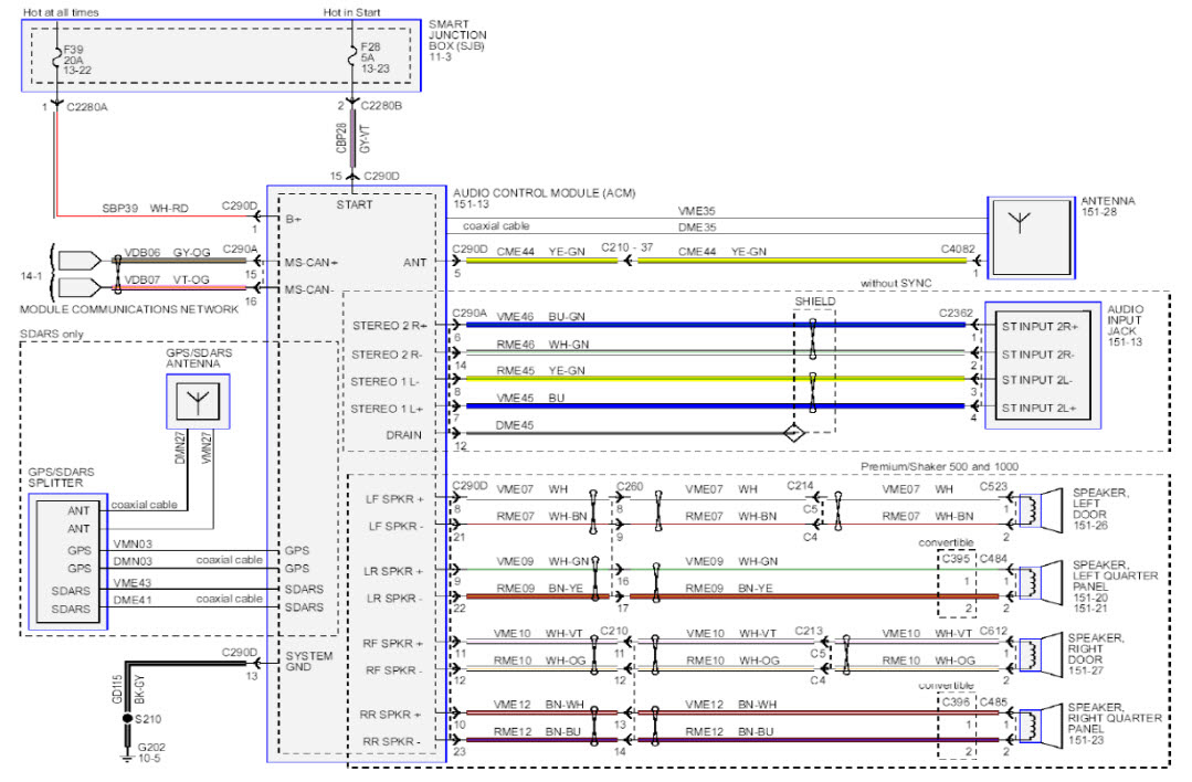 Diagram 2006 Mustang Radio Wiring Diagram Full Version Hd Quality Wiring Diagram Designdiagram Gtve It