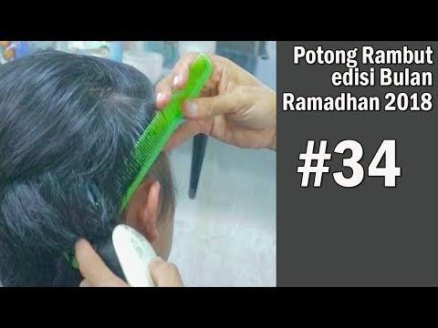 Terupdate Potong Rambut Mandarin Lebaran Step By Step ...