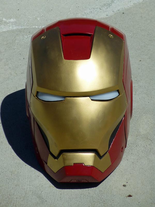 Ironman Helmet Front