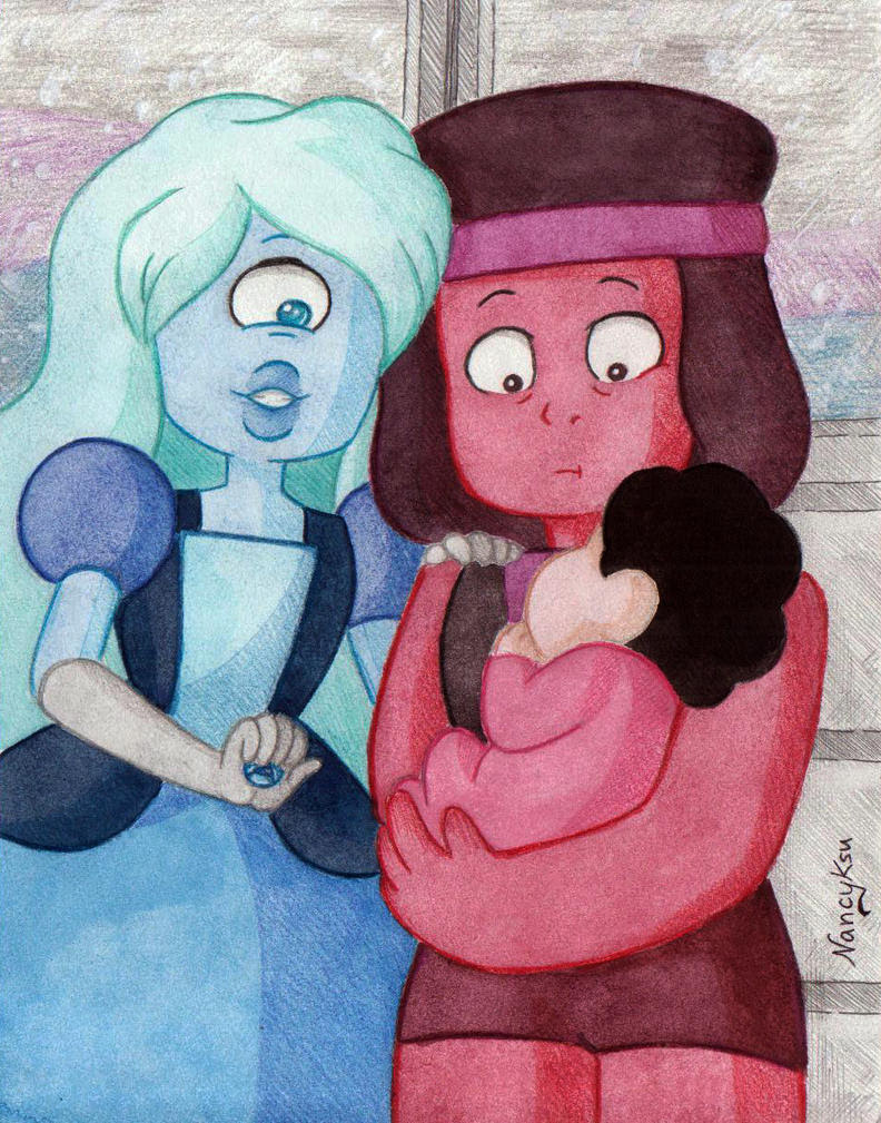 I love Ruby and Sapphire too much so I decided to dedicate this week to drawing them. So every day I will draw something with both of them trying to use different technics and maybe styles. This wi...