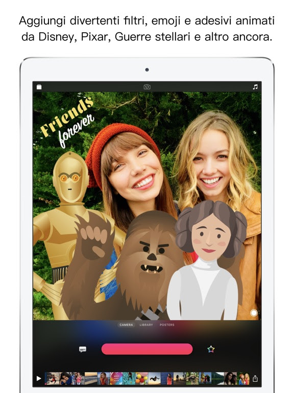 L'app di Apple Clips si aggiorna alla vers 2.0.3