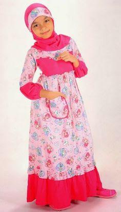 referensi baju muslim anak perempuan