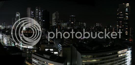 Shinjuku Night Panorama