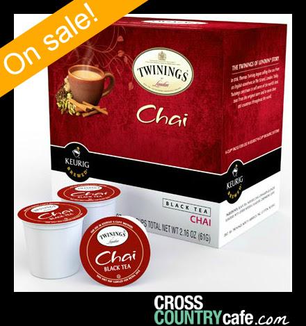 Twinings Chai Keurig K-cup tea