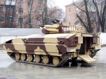БМПТ Харьковского завода. Фото с сайта ukrmil.blogspot.com