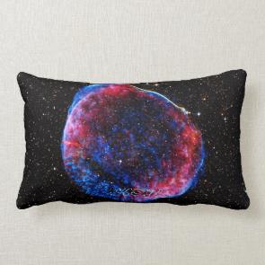 Monogram Brightest Supernova Ever space picture Throw Pillows