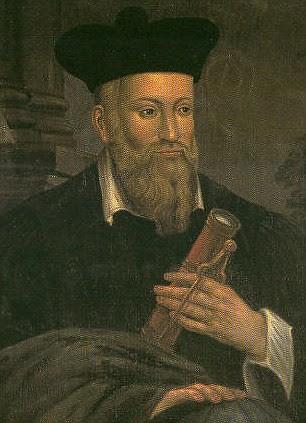 Nhà tiên tri Nostradamus. Ảnh: Daily Mail.