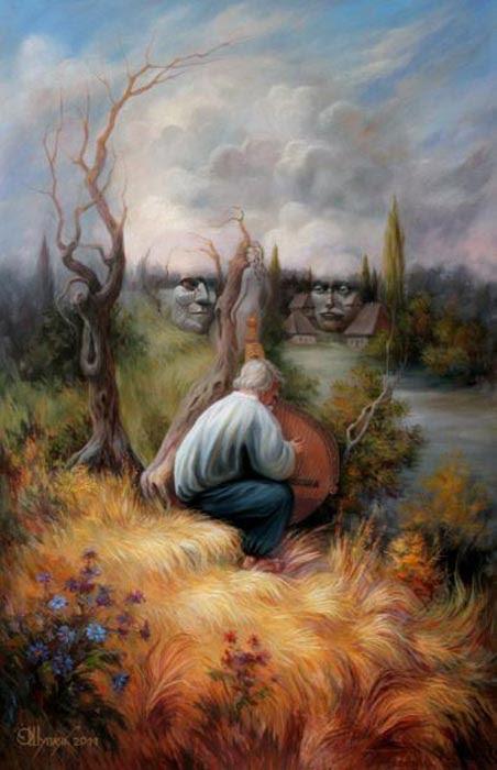 perierga.gr - Μπορείτε να βρείτε τα κρυμμένα πρόσωπα στους πίνακες;